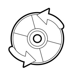 cd player accessory vector image vector image