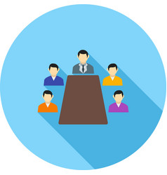 Conference vector