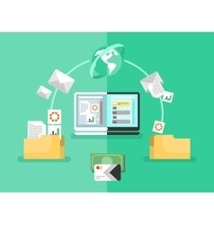 Electronic document management vector