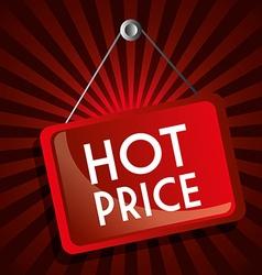 Hot price digital design vector