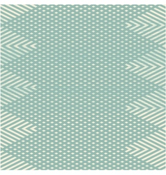 Zig zag pattern with triangles vector image vector image