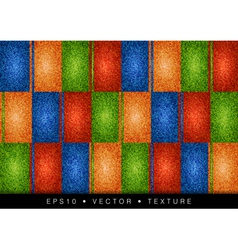 Texture grain four color vector