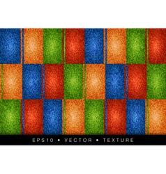 texture grain four color vector image