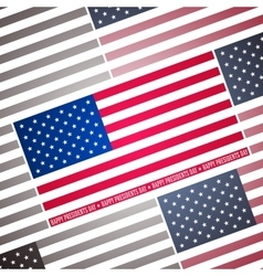 Presidents day background abstract poster with vector