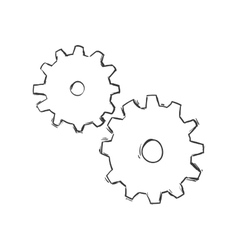 Gear icon tool design graphic vector