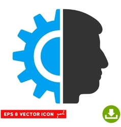 Android robotics eps icon vector