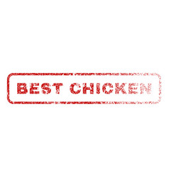 best chicken rubber stamp vector image vector image