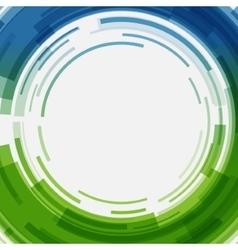 Digital geometric lines circles abstract vector