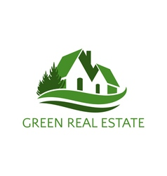 Icon house for real estate business vector
