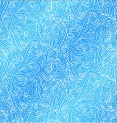 abstract doodle seamless pattern vector image vector image
