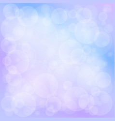 Soft bright bokeh background vector