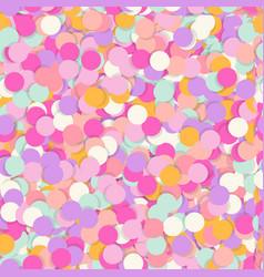Festive seamless pattern with confectionery vector