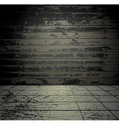 Concrete grunge room vector