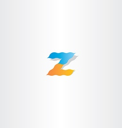 Z logo letter z icon vector