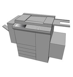 Print machine vector