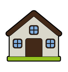 small house icon image vector image vector image