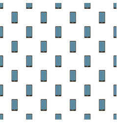 smartphone pattern seamless vector image vector image