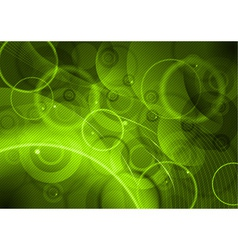 Green abstract background with lines vector