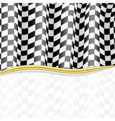 Racing background checkered flag eps10 vector
