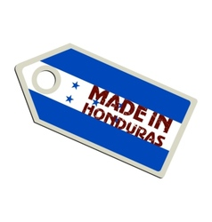 Made in Honduras vector image