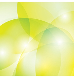 Yellow and green background vector