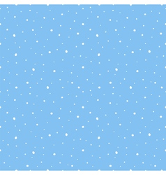 Snow seamless pattern background vector