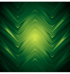 Abstract dark green design vector image