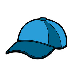 Baseball hat or cap icon image vector