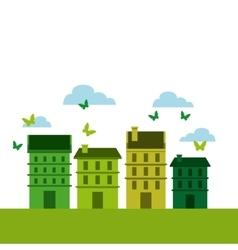 Green city design vector