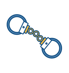 Handcuffs icon image vector