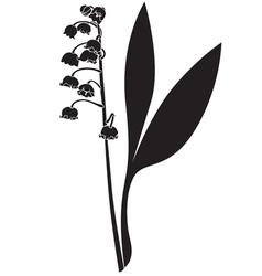 Landish silhouette vector