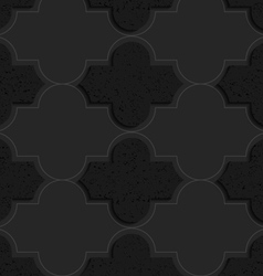 Black textured plastic basic marrakech vector