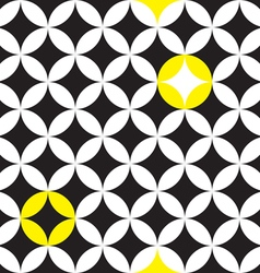 circle star pattern vector image vector image