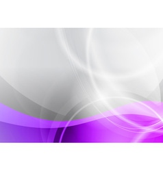 purple and grey wave abstract background vector image