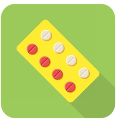 Tablets icon vector