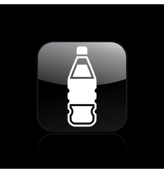 Drink bottle icon vector
