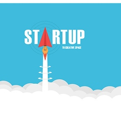 196startup isolated vector