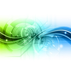 abstract background with the wave vector image vector image
