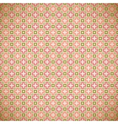 Different spring patterns Romantic chic texture vector image vector image