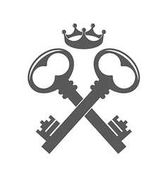 Key Logo vector image vector image