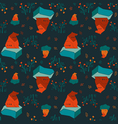 Modern animalistic textile pattern vector