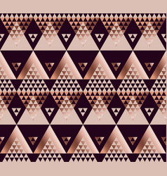 Tribal traditional repeatable motif in art deco vector