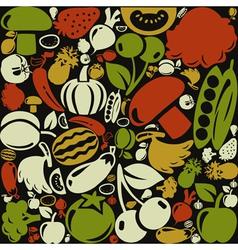 Meal a background3 vector image
