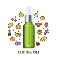 Aromatherapy concept vector
