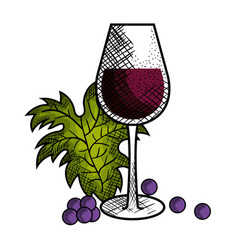 Best wine cup icon vector