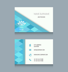 Business card template business card template vector