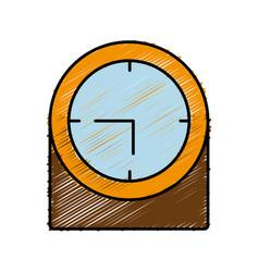 Clock icon imag vector