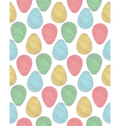 Pattern eggs3 vector