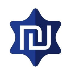 Symbol icon israel culture design graphic vector