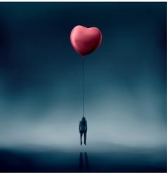 Unhappy Love vector image vector image